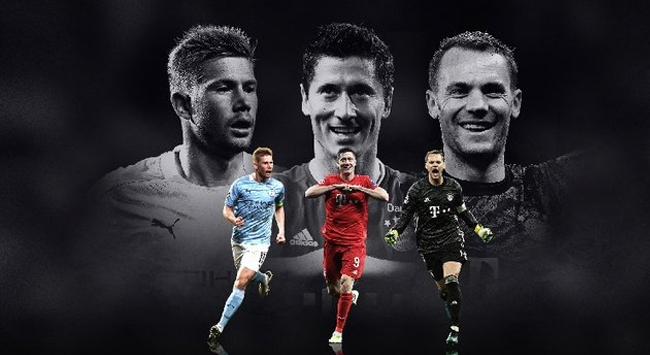 UEFAda yılın futbolcusu adayları belli oldu