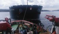 İstanbul Boğazı'nda arızalanan 292 metrelik yük gemisi kurtarıldı
