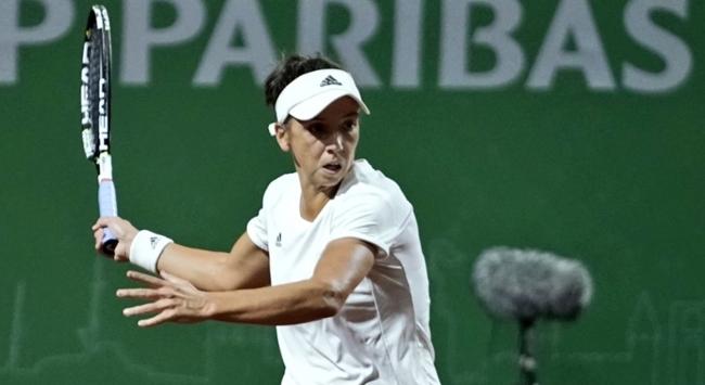 Milli tenisçi Pemra Özgen Fransa Açıka veda etti