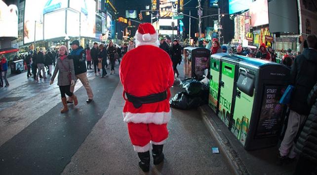 New York Times Meydanındaki yılbaşı kutlaması bu yıl sanal ortamda