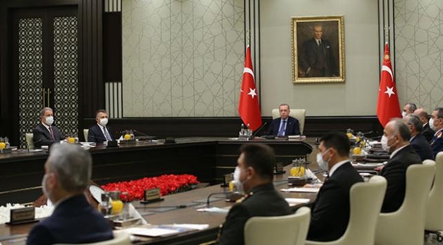 Cumhurbaşkanı Erdoğan MGK toplantısına başkanlık edecek