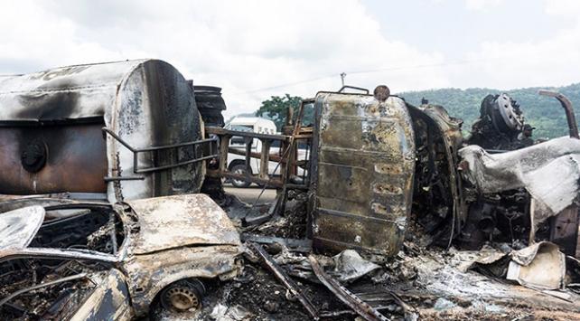 Nijeryada tanker faciası: 23 kişi hayatını kaybetti