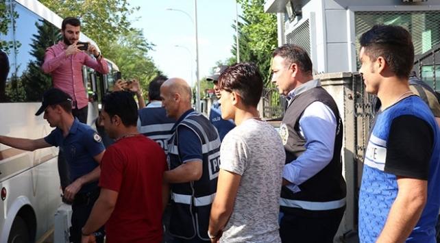 Kırklarelinde 10 düzensiz göçmen yakalandı