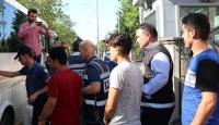Kırklareli'nde 10 düzensiz göçmen yakalandı