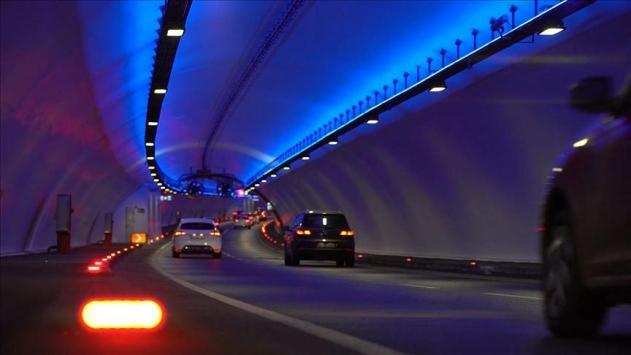 Avrasya Tüneline trafiği yüzde 90 azaltabilen sistem kuruldu