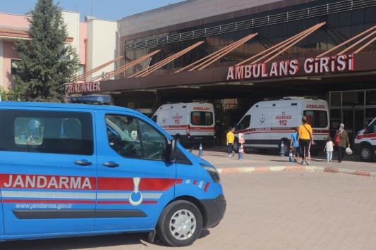 Kiliste askeri araç devrildi, 5i asker 16 kişi yaralandı