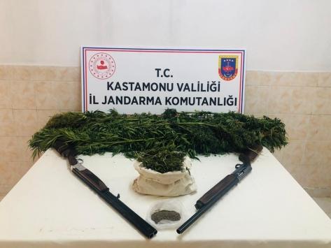 Kastamonuda uyuşturucu operasyonu