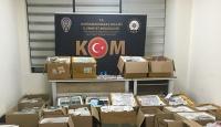 Kahramanmaraş'ta 16 bin kaçak cep telefonu ele geçirildi