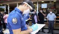 Kahramanmaraş'ta tedbirlere uymayan 72 kişiye ceza