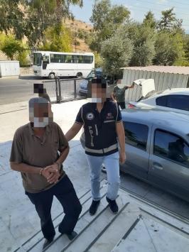 Muğlada 13 suçtan 5 yıldır aranan şüpheli sahte kimlikle yakalandı