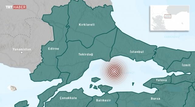 İstanbulda hissedilen deprem… İstanbulda 4,2 büyüklüğünde deprem meydana geldi...