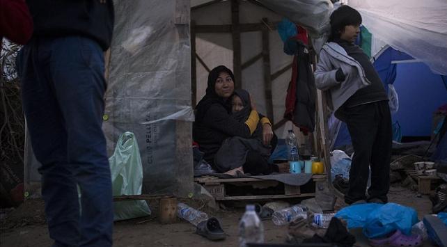 BM: Ege adalarındaki sığınmacılar kabul edilemez şartlarda yaşıyor