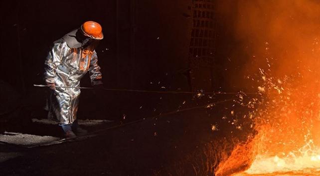 Türkiyede ham çelik üretimi 3,2 milyon tona yükseldi