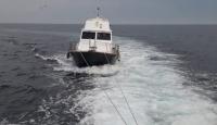 İstanbul'da arıza yaparak sürüklenen tekne kurtarıldı
