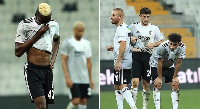 Beşiktaş Avrupaya tutunamadı