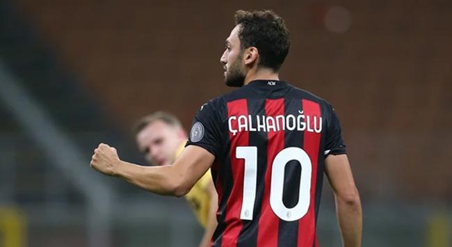 Hakan Çalhanoğlu Milana turu getirdi