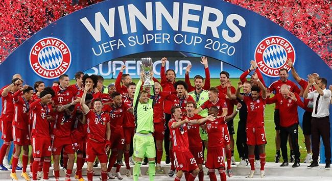 UEFA Süper Kupa Bayern Münihin