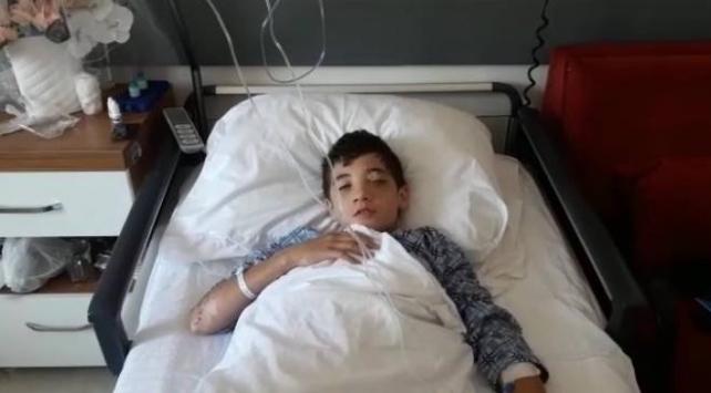 Torpil nedeniyle gözünü kaybeden çocuk: Tehlikeli şeylerle oynamayın
