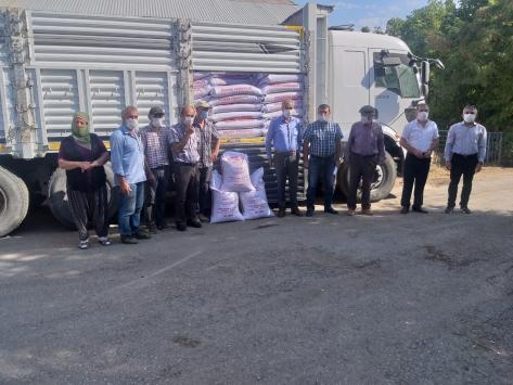Tuncelide üreticilere 160 ton sertifikalı buğday tohumu dağıtıldı