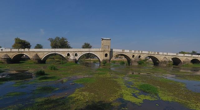 Meriç ve Tunca nehirlerinin debisi düştü