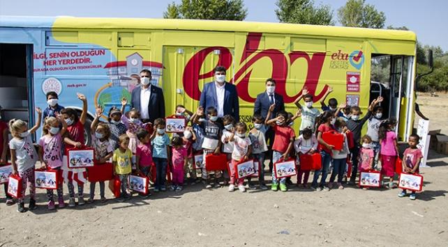 Ankarada mevsimlik işçilerin çocuklarının eğitimi için otobüs tahsis edildi