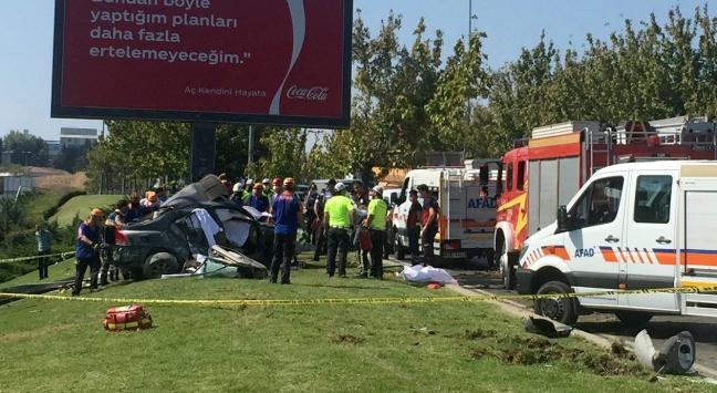 Bakırköydeki trafik kazasında 1 kişi hayatını kaybetti