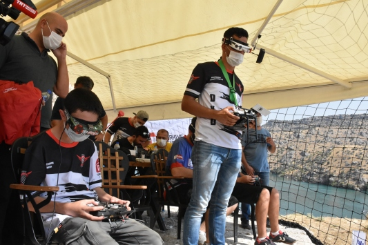 Türkiye Drone Şampiyonası finali Rumkalede başladı
