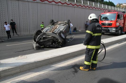Kahramanmaraşta kaza: 1 yaralı