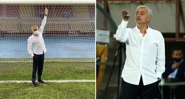 Mourinho kale direğini ölçtü