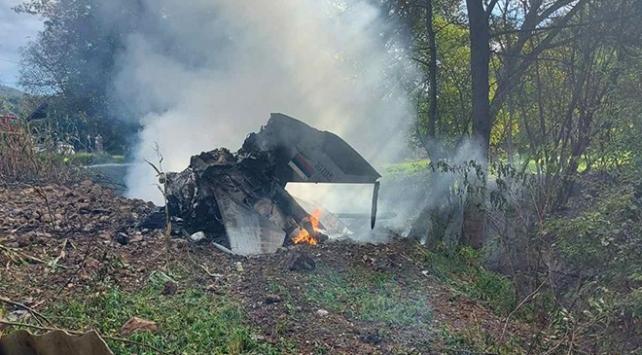 Sırbistanda askeri uçak düştü: 2 pilot öldü