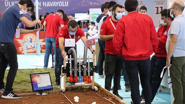 Gaziantep'te düzenlenen TEKNOFEST heyecanı sürüyor