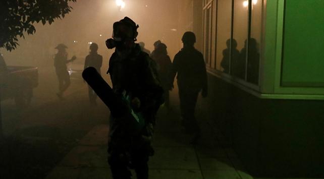 ABDnin Portland kentindeki protestolarda 14 gözaltı