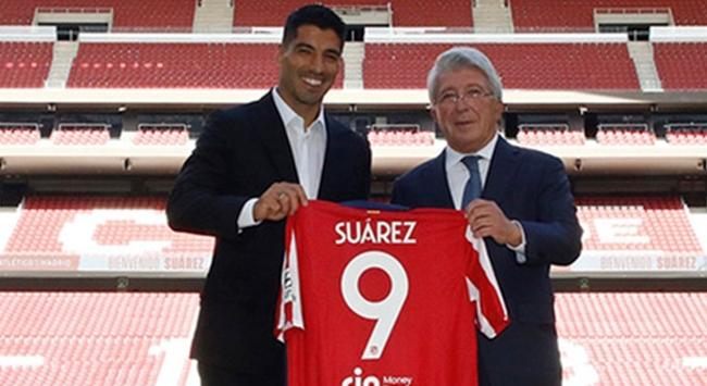 Luis Suarez Atletico Madridde