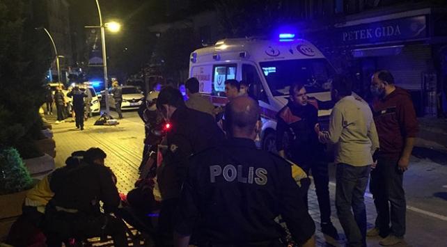 Boluda kavga ihbarına giden polis ekiplerine saldırı