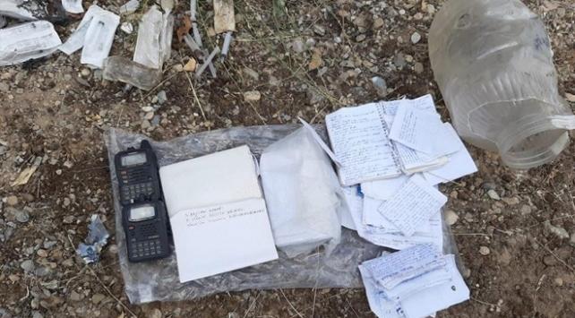 Tuncelide teröristlere ait 12 sığınak imha edildi