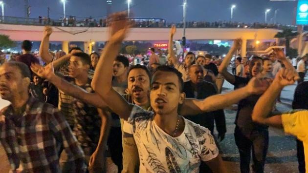 Mısırda Sisi karşıtı gösteriler devam ediyor