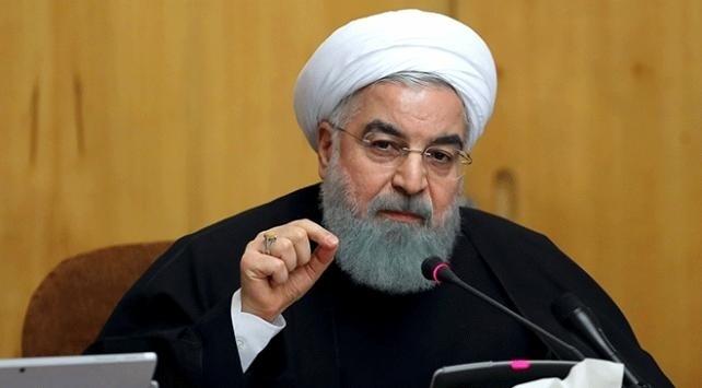 İran Cumhurbaşkanı Ruhani: ABD yaptırımları İrana en az 150 milyar dolar zarar verdi