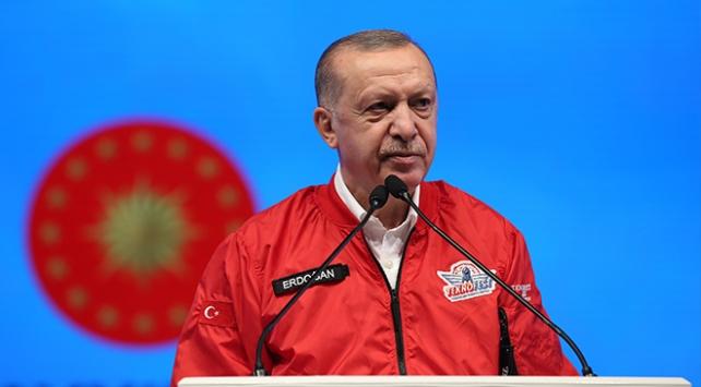Cumhurbaşkanı Erdoğan: Ülkemizde hala bazıları milli teknoloji hamlemizi küçümsüyor