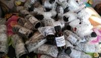 Antalya'da 2 bin 500 litre kaçak içki ele geçirildi