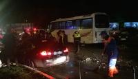 Erzurum'da zincirleme trafik kazası: 7 yaralı