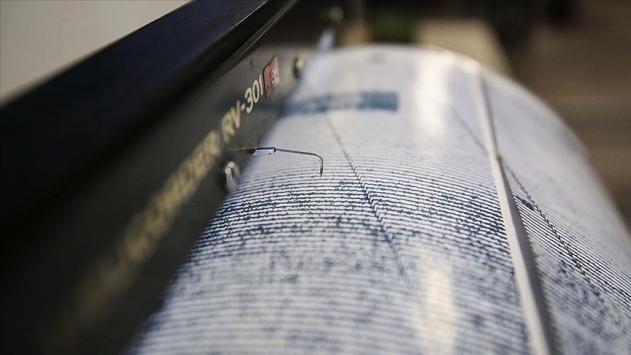 Ege Denizinde 5,3 büyüklüğünde deprem