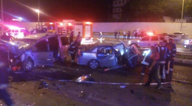 Denizlide trafik kazası: 10 yaralı
