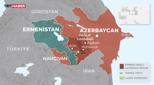 Azerbaycan topraklarının yüzde 20si Ermenistanın işgali altında