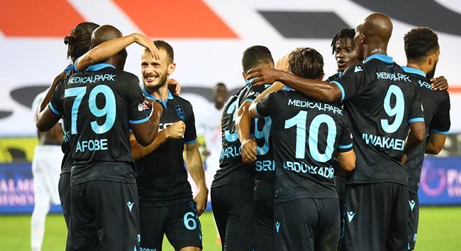 Trabzonspor bu sezon ilk galibiyetini aldı
