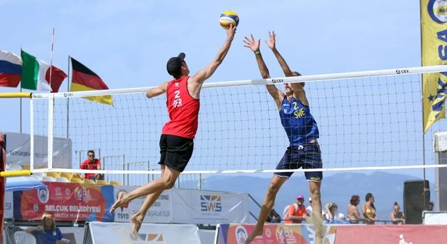 22 Yaş Altı Plaj Voleybolu Avrupa Şampiyonası tamamlandı