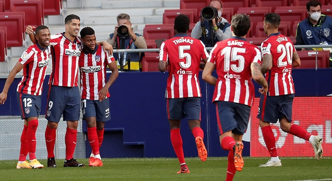 Luis Suarezli Atletico Madrid farklı başladı