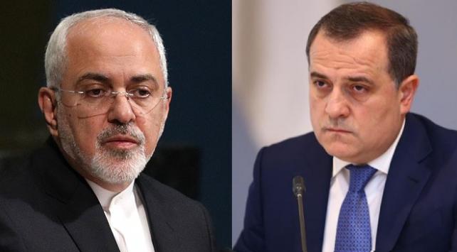 İran Dışişleri Bakanı Zarif, Azerbaycanlı mevkidaşı Bayramov ile görüştü