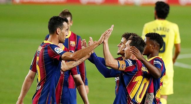 Barcelona, Villarreal karşısında farklı kazandı