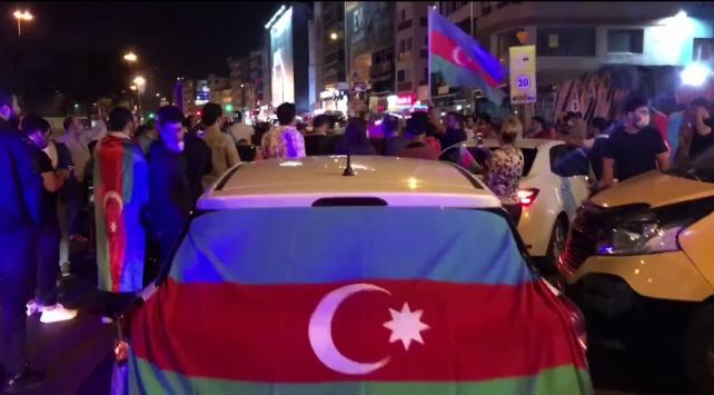 Ermenistanın Azerbaycana saldırısı Kadıköyde protesto edildi