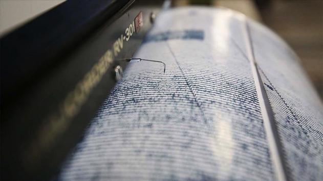 Ege Denizinde 4,6 büyüklüğünde deprem